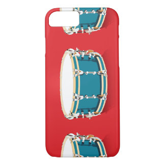 Drums - Red iPhone 7 Case