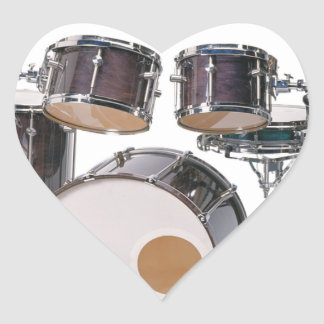 Drums Tools Percussion Music Concert Heart Sticker