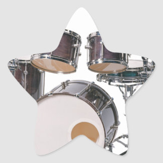 Drums Tools Percussion Music Concert Star Sticker