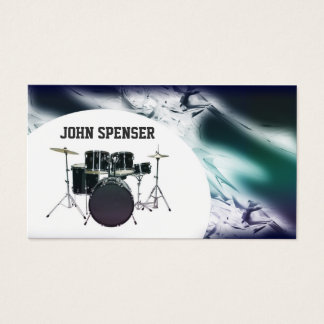 Drums Tutor Business Card