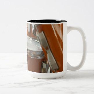 Drums Two-Tone Coffee Mug