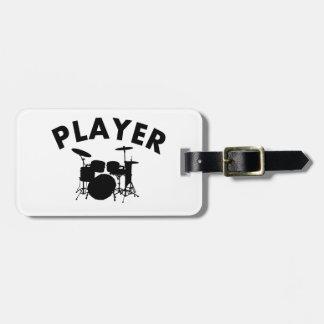 Drums vector designs bag tag