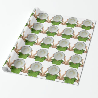 Drums Wrapping Paper