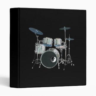 Drums & Yin-Yang Avery Binder