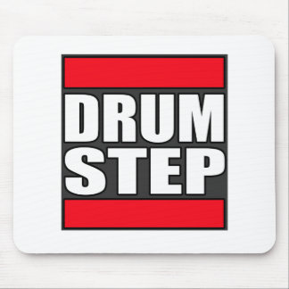 DRUMSTEP Drum and Bass and Dubstep Mouse Pad