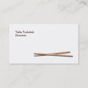 Drummer business cards business card printing zazzle ca drumsticks drummer business card template colourmoves