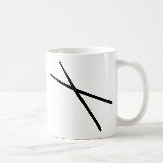 drumsticks icon coffee mug