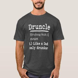 Druncle Funny saying men's uncle shirt