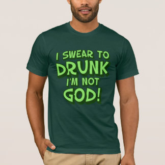 Drunk and Confused St Paddys Day T-Shirt
