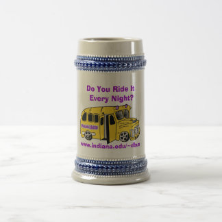 Drunk Bus Beer Stein