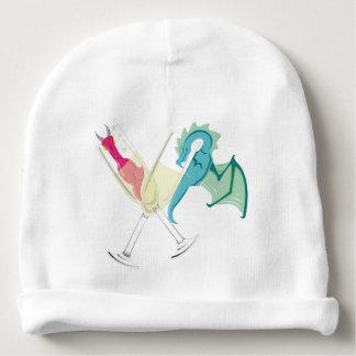 Drunk Dragons Baby Beanie