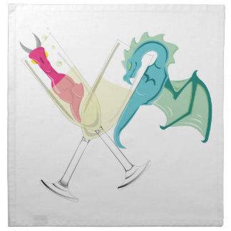 Drunk Dragons Napkin