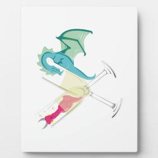 Drunk Dragons Plaque