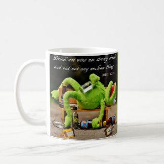 DRUNK FROG-MUG COFFEE MUG
