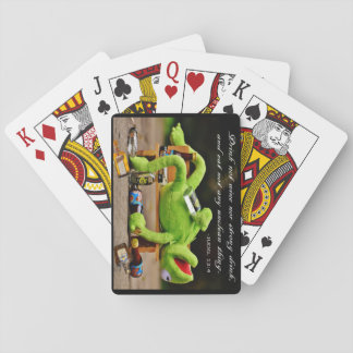DRUNK FROG -PLAYING CARDS