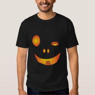 Drunk Halloween Pumpkin Face Tees