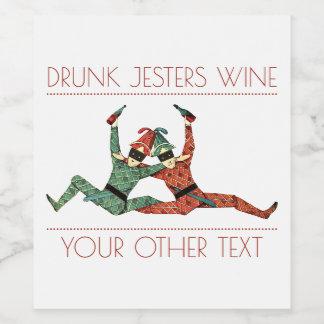 Drunk Jesters Wine Label