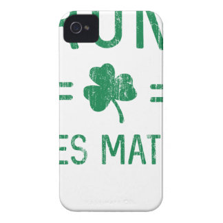 Drunk Lives Matter iPhone 4 Case-Mate Case