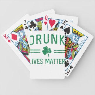 Drunk Lives Matter Poker Deck