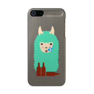 Drunk Llama Emoji Incipio Feather® Shine iPhone 5 Case