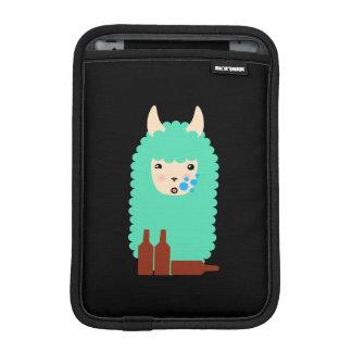 Drunk Llama Emoji iPad Mini Sleeve