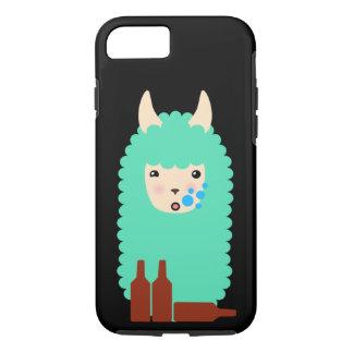 Drunk Llama Emoji iPhone 8/7 Case