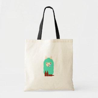 Drunk Llama Emoji Tote Bag