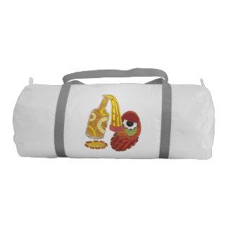 Drunk Mango Duffle Gym Bag