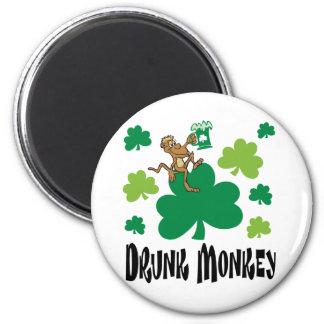Drunk Monkey Magnet