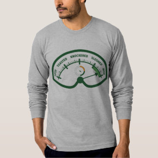 Drunk-o-Meter Funny St. Patrick's Day T-Shirt