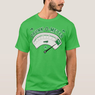 Drunk-O-Meter Irish St.Patrick's Day Tee