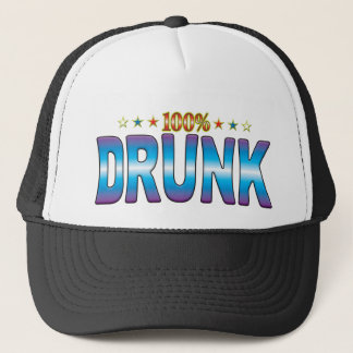 Drunk Star Tag v2 Trucker Hat