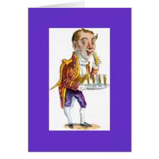 Drunken Butler Card
