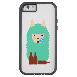 Drunken Emoji Llama (beer) Tough Xtreme iPhone 6 Case