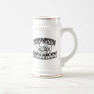 Drunken Hillbilly Skull Design Stein