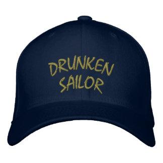 Drunken Sailor Hat Embroidered Hats