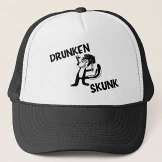 DRUNKEN SKUNK TRUCKER HAT