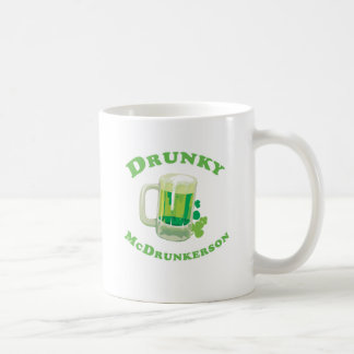 Drunky McDrunkerson Coffee Mug