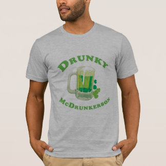 DRUNKY MCDRUNKERSON T-Shirt