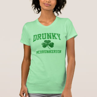 Drunky McDrunkerson Tee Shirt