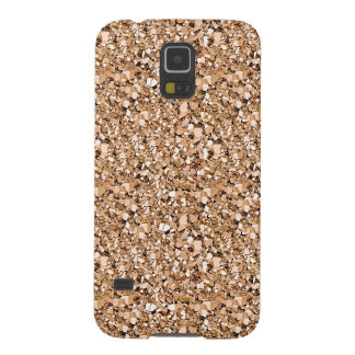 Druzy crystal - rose gold color cases for galaxy s5