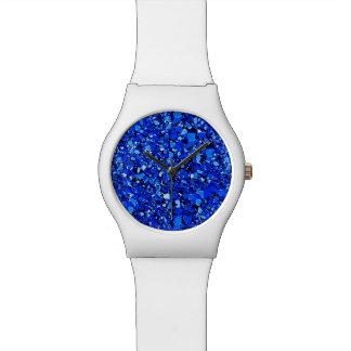 Druzy crystal - Sapphire blue Watch