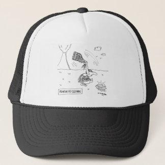 Dry Cleaning Cartoon 2892 Trucker Hat