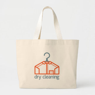 Dry Cleaning Clothes Hanger Shirt Concept Large Tote Bag