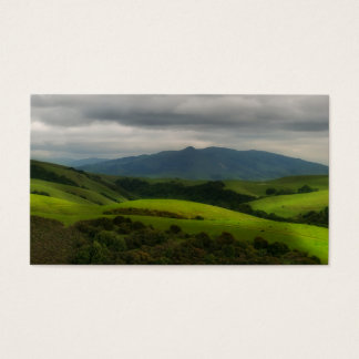 Dry Creek Park with Storm Approaching Business Card