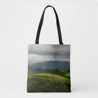 Dry Creek Park with Storm Approaching Tote Bag