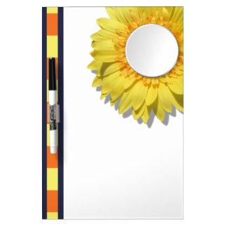 Dry-Erase Board - Lemorange Lollipop Daisies