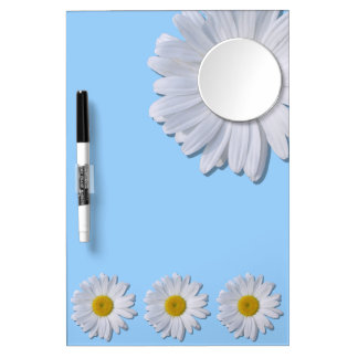 Dry-Erase Board - New Daisies on Blue