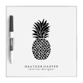 Dry Erase Board - Pineapple