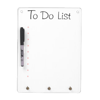 Dry Erase Board - To Do List